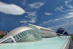The City of Arts and Sciences Valencia Royalty Free Stock Photos