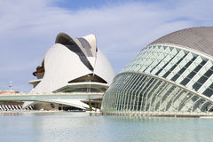 City of Arts and Sciences of Valencia Stock Photos