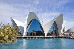 City of Arts and Sciences of Valencia Stock Images