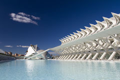 City of Arts and Sciences of Valencia Stock Photography