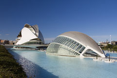 City of Arts and Sciences of Valencia Royalty Free Stock Image