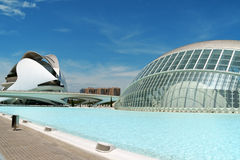 City of Arts and Sciences in Valencia Royalty Free Stock Image
