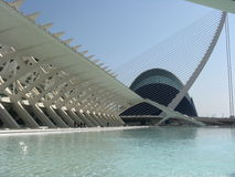 City of Arts and Sciences. In Valencia Royalty Free Stock Image