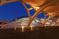 City of Arts and Sciences in Valencia Stock Photo