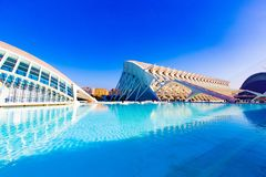 City of arts and sciences Valencia stock image