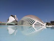 City of Arts and Sciences of Valencia Stock Image