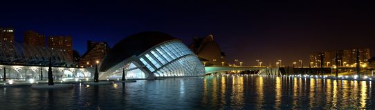 City of Arts and Sciences, Valencia Stock Photos