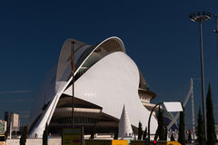City of Arts & Sciences, Valencia Royalty Free Stock Photography