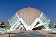 City of Arts and Sciences Valencia, Spain Stock Photos