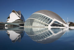 The city of arts and sciences in Valencia, Spain Stock Images