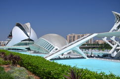 The City of Arts and Sciences in Valencia, Spain Stock Image