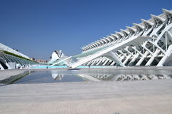 The City of Arts and Sciences in Valencia, Spain Stock Photography