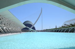 The City of Arts and Sciences in Valencia, Spain Royalty Free Stock Photo