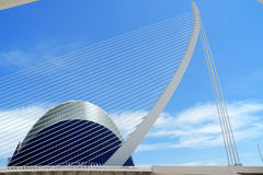 City of Arts and Sciences in Valencia, Spain Royalty Free Stock Photo