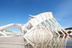 City of the Arts and Sciences, Valencia. Stock Images