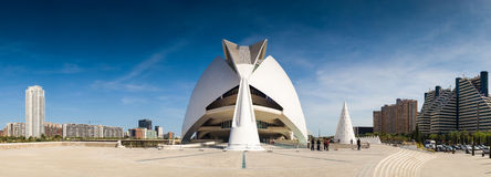 City of Arts and Sciences, Valencia, Spain Royalty Free Stock Images