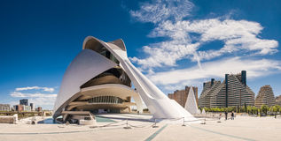 City of Arts and Sciences, Valencia, Spain Stock Images