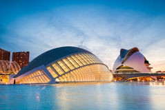 City of Arts and Sciences, Valencia, Spain Stock Photo