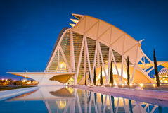 City of Arts and Sciences, Valencia, Spain Stock Photos