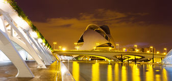 City of Arts and Sciences   in Valencia, Spain. Royalty Free Stock Photo