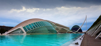 City of Arts and Sciences  in Valencia, Spain Stock Image