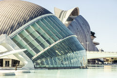 City of Arts and Sciences in Valencia, Spain. Stock Photo