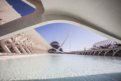 City of Arts and Sciences in Valencia, Spain. Stock Images