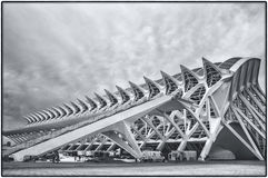 The City of Arts and Sciences in Valencia, Spain Stock Photo