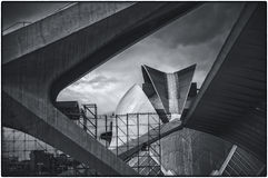 The City of Arts and Sciences in Valencia, Spain Royalty Free Stock Images