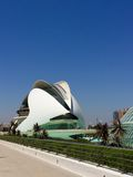 City of Arts and Sciences, Valencia, Spain Designed by Santiago Calatrava and Félix Candela Royalty Free Stock Image
