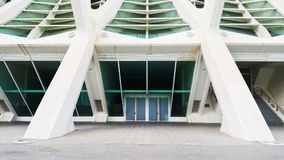 City of Arts and Sciences of Valencia royalty free stock photo