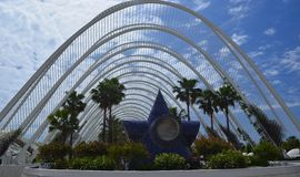 City of Arts and Sciences . Valencia- Spain Royalty Free Stock Photography