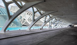 The City of Arts and Sciences Stock Image