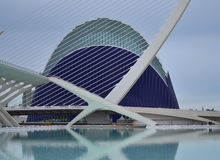 The City of Arts and Sciences of Valencia Stock Photography