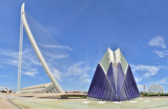 The City of Arts and Sciences. Royalty Free Stock Photos