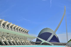 The City of Arts and Sciences. Stock Photography