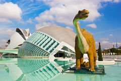 City of Arts and Sciences - Valencia Spain Royalty Free Stock Photography