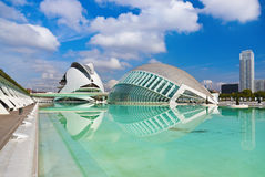 City of Arts and Sciences - Valencia Spain Stock Photos