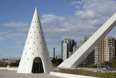 City of Arts and Sciences in Valencia, Spain Stock Images