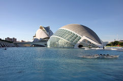 City of the arts and the sciences Royalty Free Stock Photo