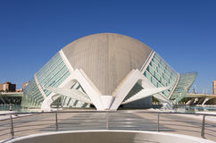 City of the arts and the sciences Stock Images