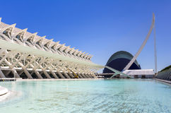 City of the arts and the sciences Stock Photo