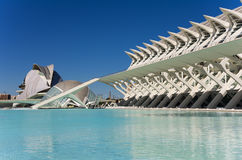 City of the arts and the sciences Stock Photos
