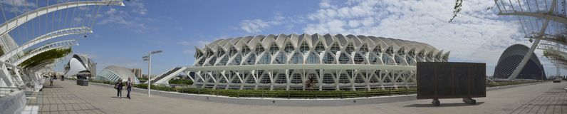 City of Arts and Sciences . Valencia- Spain Stock Photos