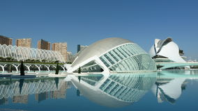 The City of Arts and Sciences in Valencia (Spain) Royalty Free Stock Photography