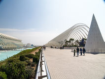 The City of Arts and Sciences, Valencia Spain Stock Image