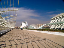 The City of Arts and Sciences, Valencia Spain Royalty Free Stock Photo