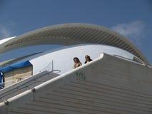 The City of Arts and Sciences, Valencia Spain Stock Photo