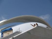 City of Arts and Sciences Valencia Spain Stock Photos