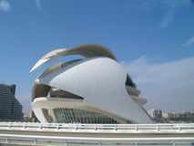 City of Arts and Sciences Valencia Spain Royalty Free Stock Images
